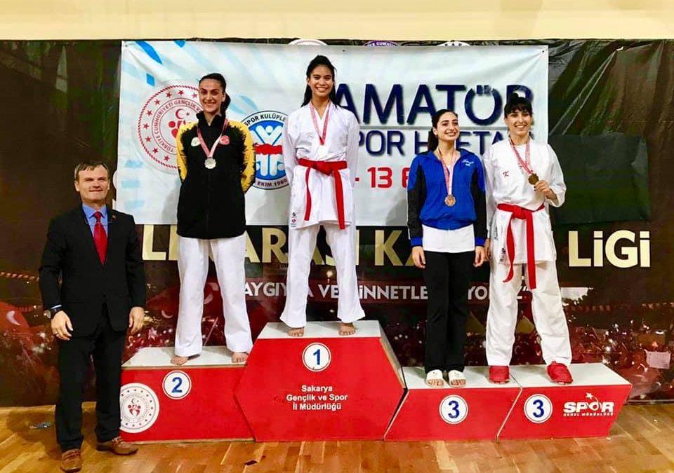 Samboy Lim's daughter Jamie wins gold Karate championship in Turkey