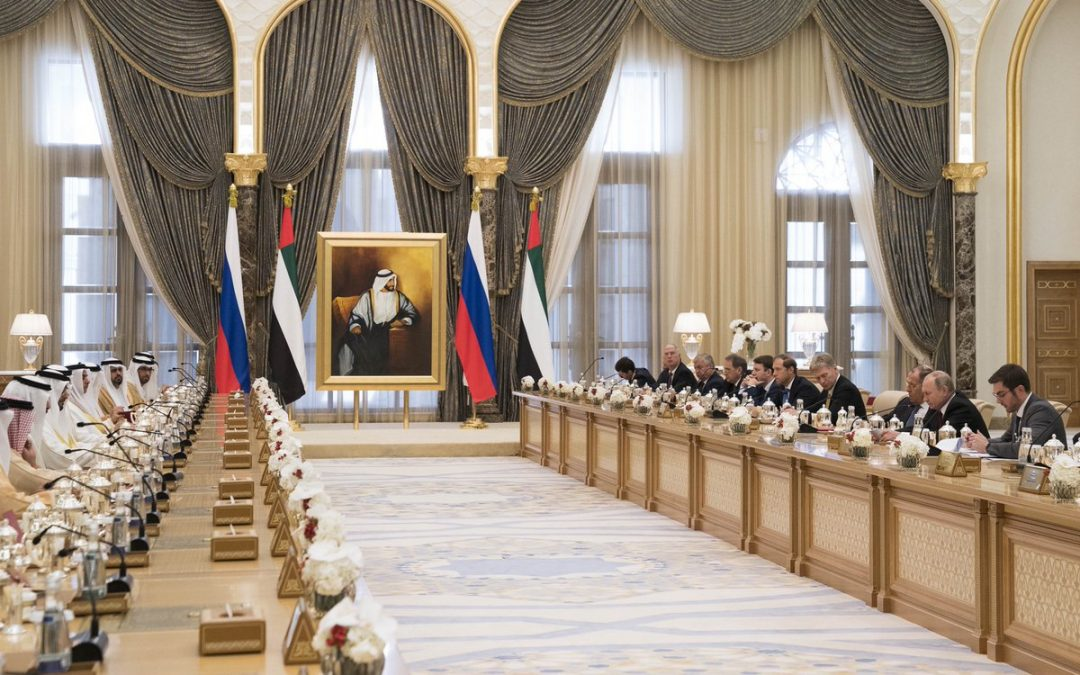 UAE, Russia sign agreements, memoranda of understanding