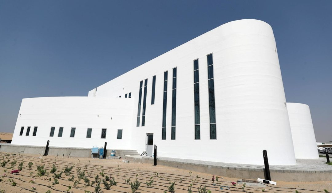 Dubai unveils world's largest 3D printed building
