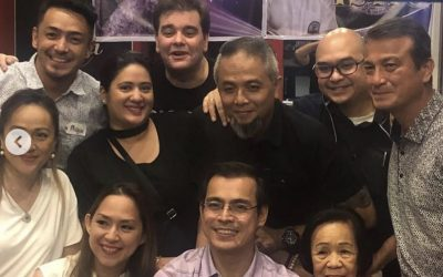 LOOK: Yorme Isko Moreno, 'That's Entertainment' stars reunited to celebrate Kuya Germs' life
