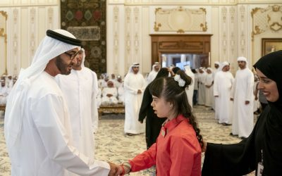 Sheikh Mohamed bin Zayed receives delegation from Zayed Higher Organisation for People of Determination