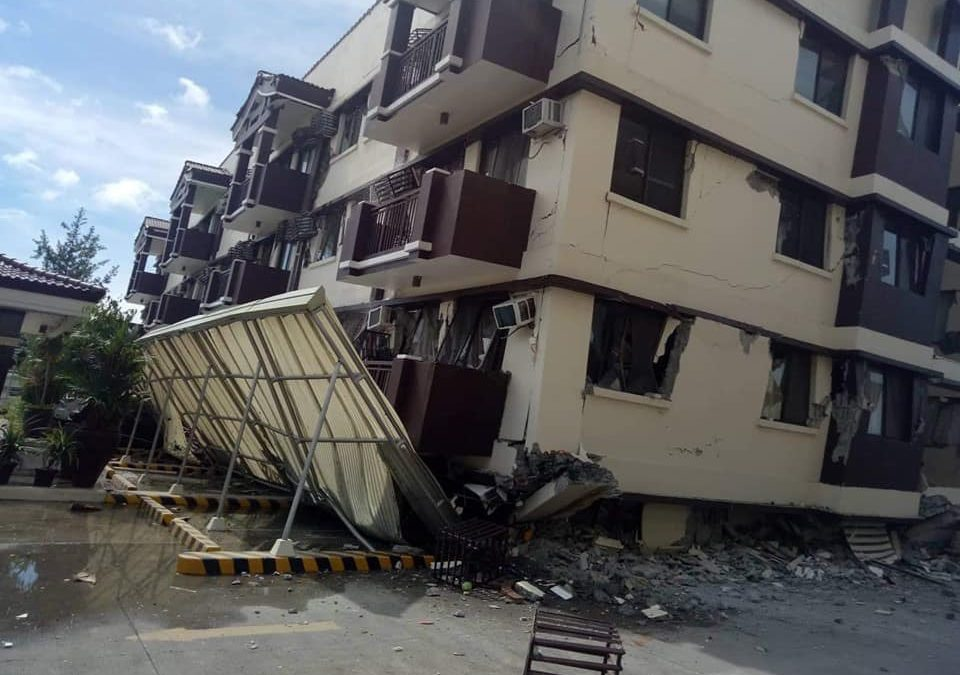IN PHOTOS: A closer look at collapsed portion of Ecoland 4000 in Davao City