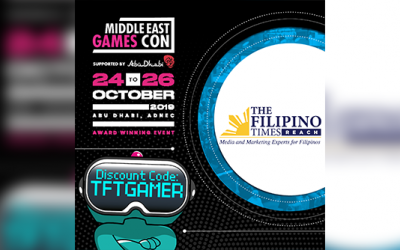 Get discounts on your purchase of Games Con tickets with The Filipino Times!