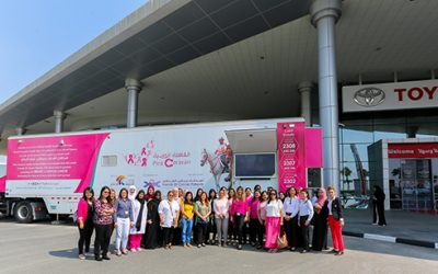 Al-Futtaim Toyota goes pink this October