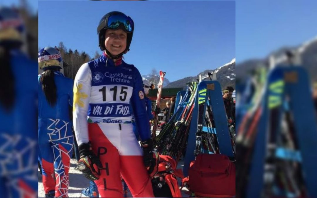 First Filipina qualifies for 2020 Winter Youth Olympic Games