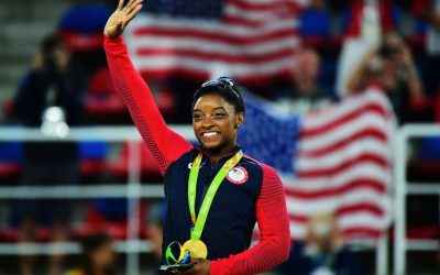 Simone Biles secures 21st gold, nears all-time record