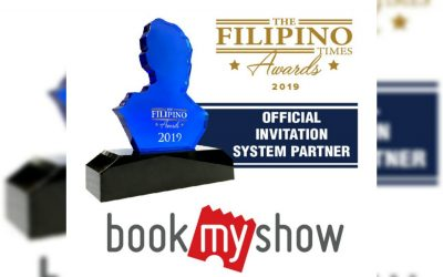 The Filipino Times Awards 2019 partners with BookMyShow as official invitation partner
