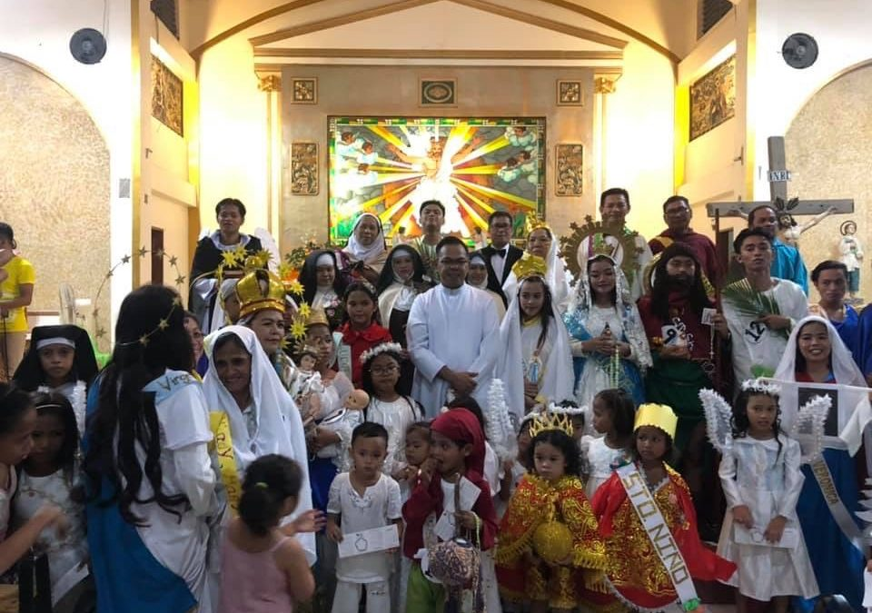 LOOK: No ghouls and ghosts for Cebu parish for Halloween