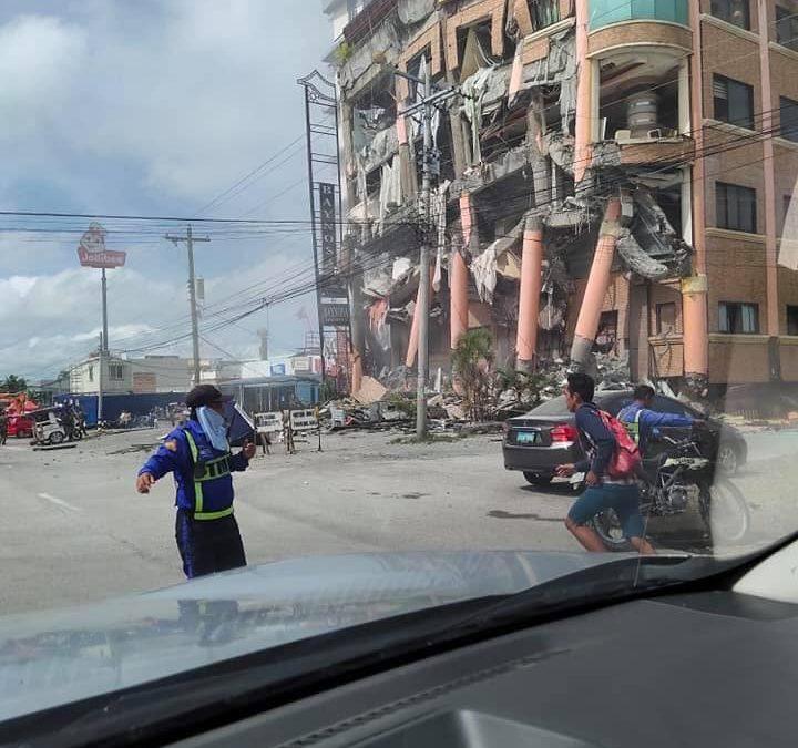 BREAKING: Magnitude 6.5 quake hits Mindanao