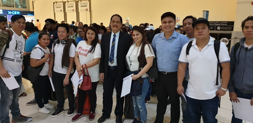 More than 300 OFWs repatriated from Kuwait
