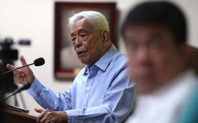 Former Senator, PDP-Laban Founder Nene Pimentel in ICU