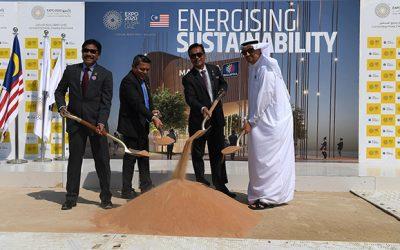 LOOK: Malaysia kicks off groundbreaking ceremony for 'Net Zero-Carbon' pavilion for Expo 2020 Dubai
