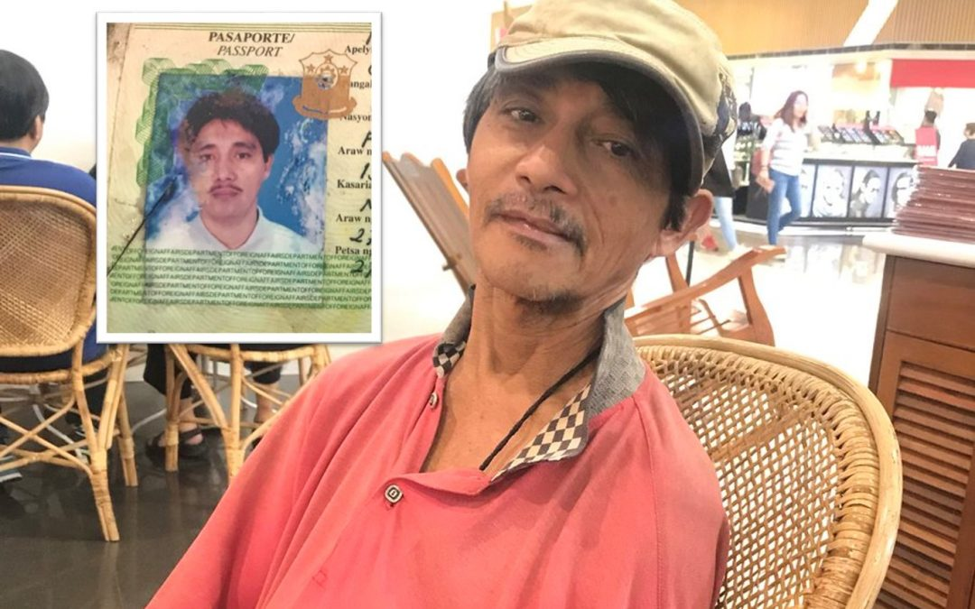 OFW finds out home in PH no longer exists as kin leaves him in the lurch