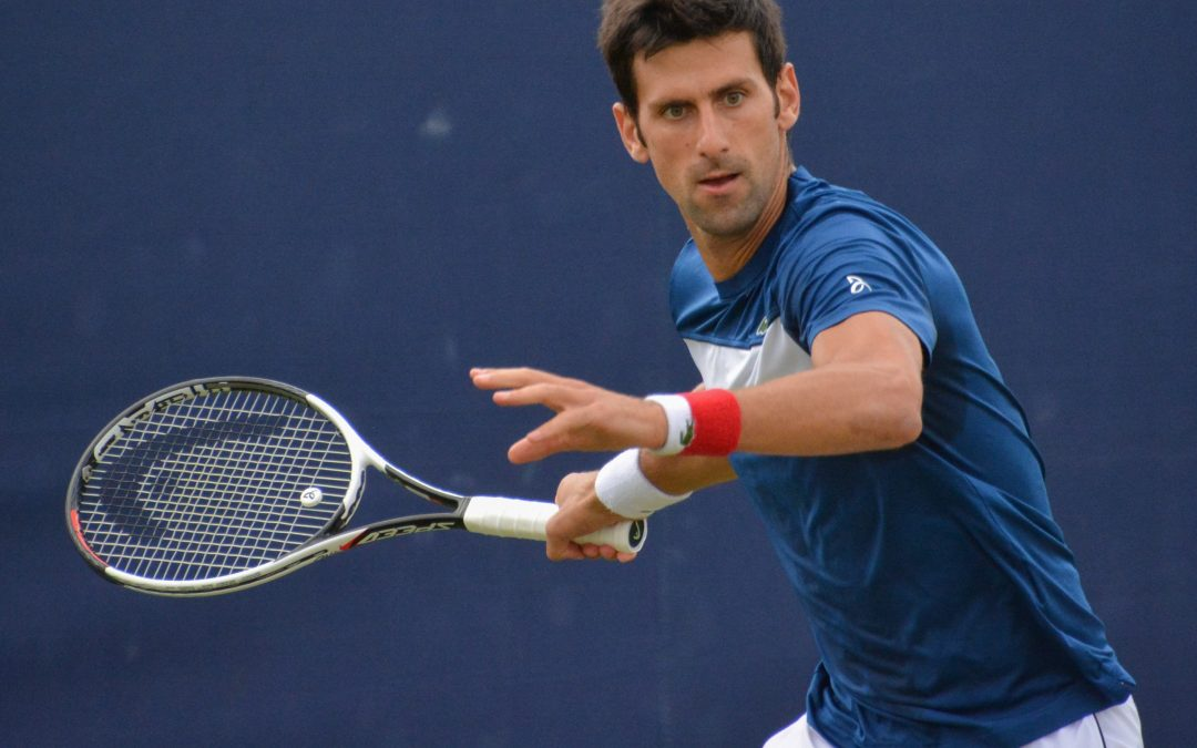 Djokovic plays like a machine at Japan Open