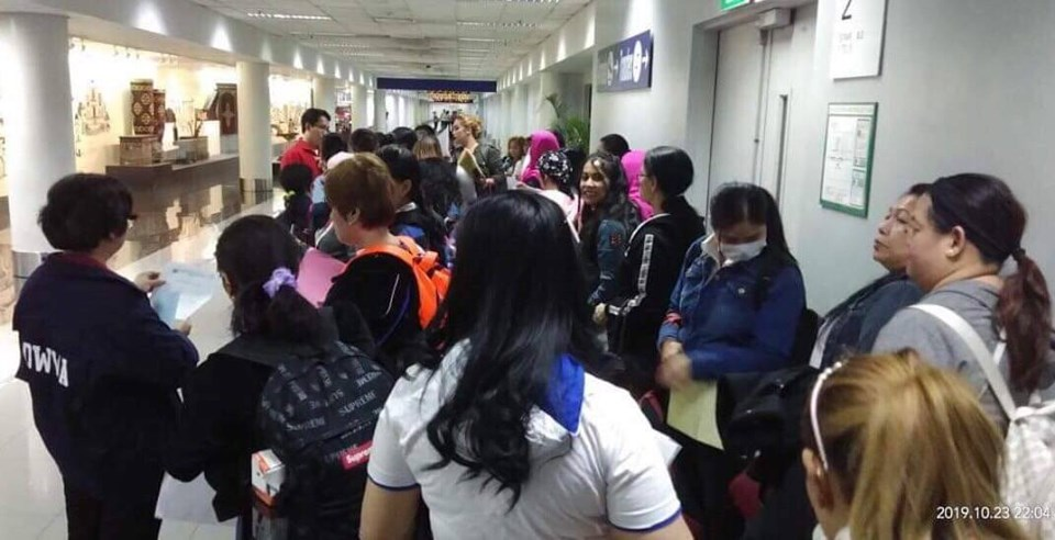 66 distressed OFWs from Kuwait arrive in PH