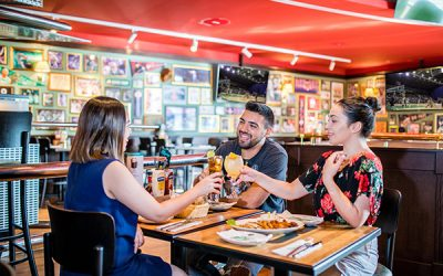 Dine, watch, and chill at O'Learys Sports Restaurant at Hilton Dubai Creek