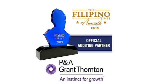 The Filipino Times and renowned auditing firm P&A Grant Thornton partner for TFT Awards 2019
