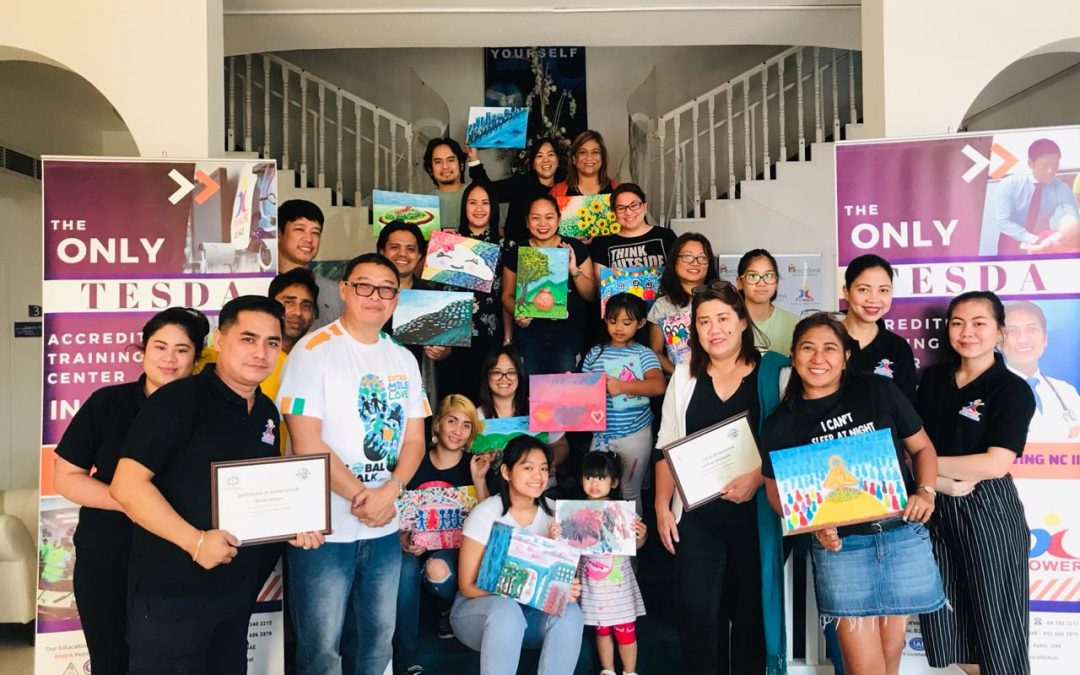 Photography, painting helps treat depression – OFW volunteer group