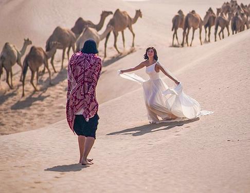 LOOK: Billy Crawford, Coleen Garcia enjoy Abu Dhabi, Dubai trips