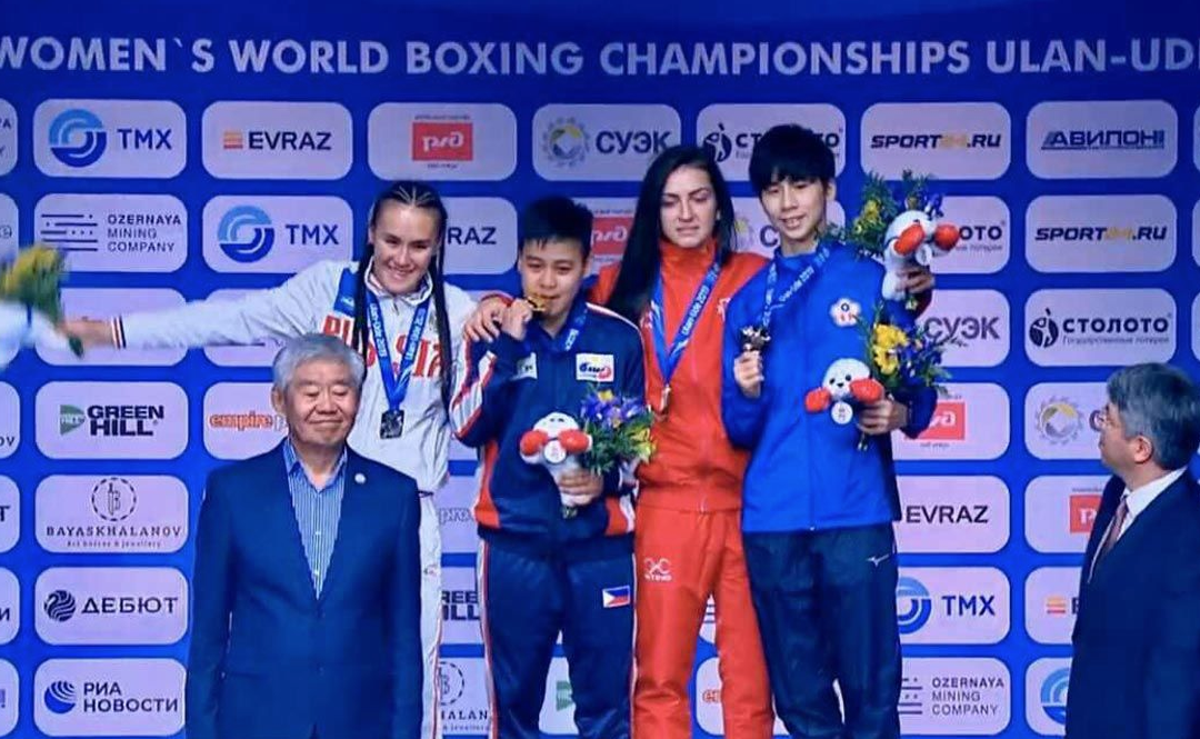 Pinay boxer wins gold in Russia tilt