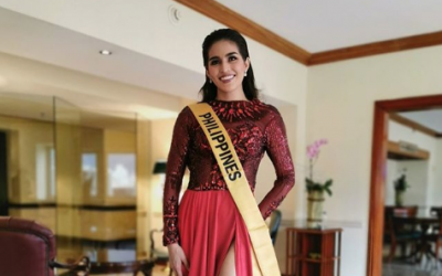 Beauty queens show support to Miss Grand International Philippines Samantha Lo