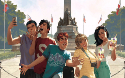 LOOK: 'Archie' gang visits Manila, eats isaw, halo-halo