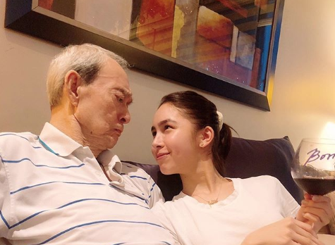 Julia Barretto apologizes to late grandfather for turning his wake to 'family circus'