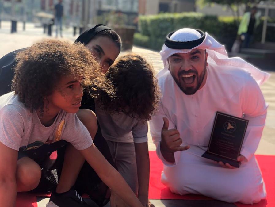 Emirati vlogger Khalid Al Ameri receives Dubai Star