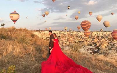 LOOK: Couple Rodjun Cruz and Dianne Medina's prenup shoot in Turkey