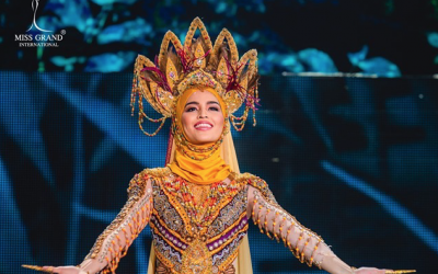 Miss Grand International Philippines Samantha Lo 'recycles' national costume