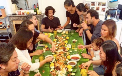 Pinay chef in Paris introduces boodle fight to Europeans