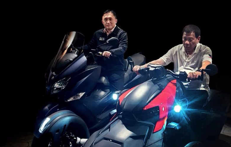 Duterte will not stop riding motorbikes despite accident