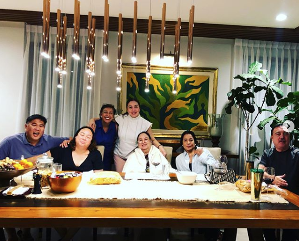 'Happy Together': Marjorie Barretto shares photo with mother Inday, siblings