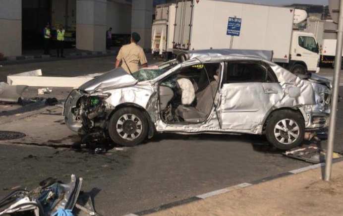 Driver dies as car plunges from third floor of Dubai airport parking