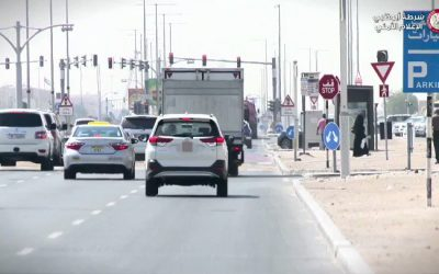 More than 4,000 motorists fined for lane change in Abu Dhabi