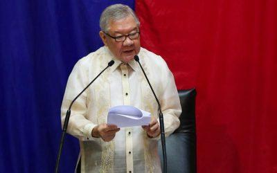 Ex-House Speaker Belmonte named special envoy to Japan