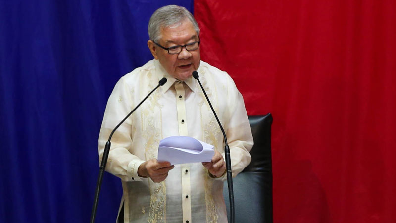 Ex-House Speaker Belmonte named special envoy to Japan