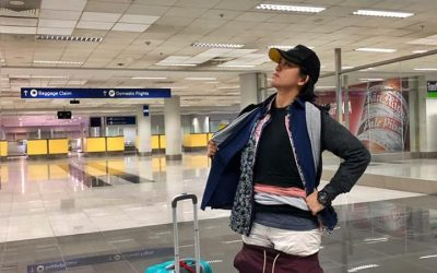 Lady wears all clothes to avoid excess baggage fees at airport