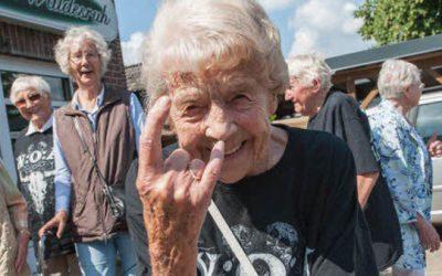 Friendship goals: Two grandpas escape nursing home to watch metal concert