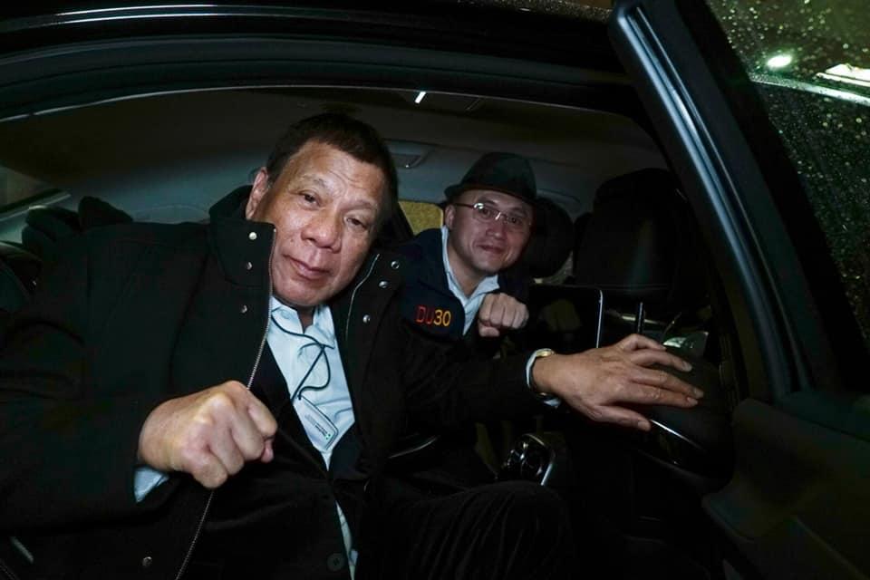 Duterte arrives in Japan for Emperor's enthronement