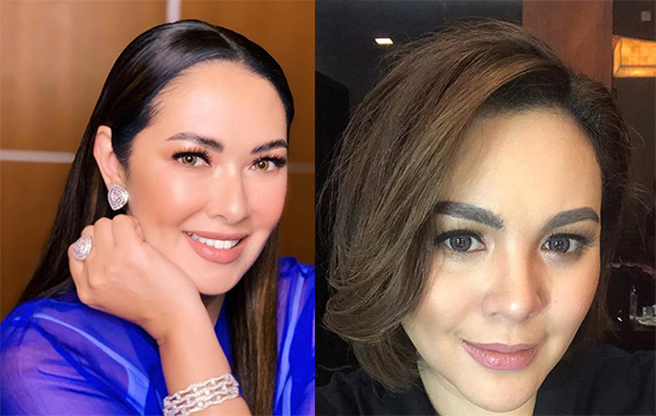 Ruffa Gutierrez says she's in good terms with Claudine Barretto