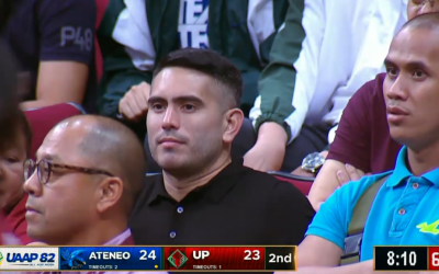 Gerald Anderson booed at UAAP game