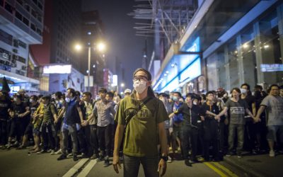 OFW passes out after Hong Kong anti-riot police use tear gas