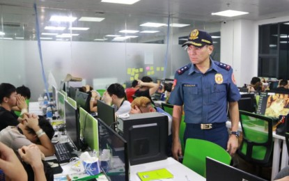 512 undocumented foreigners arrested in a raid in Pasay