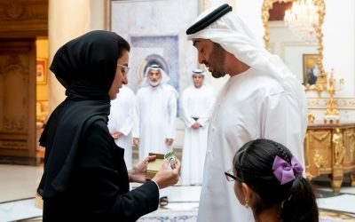Sheikh Mohamed bin Zayed receives Tolerance logo beyond 2019