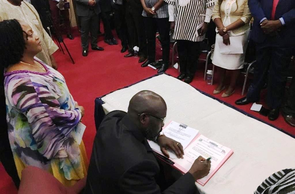 Liberian lawmakers agree to cut salaries, allowances by 30 percent to help fill up the national budget