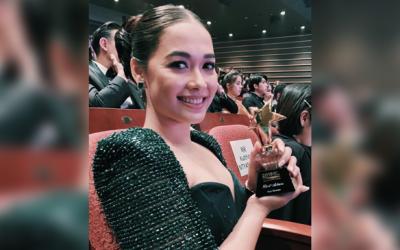 "Maja Salvador wins Best Actress at Asia Contents Awards for ""Wildflower"""