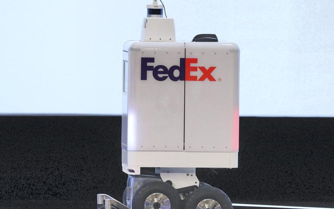 Robots to deliver supermarket products in Dubai