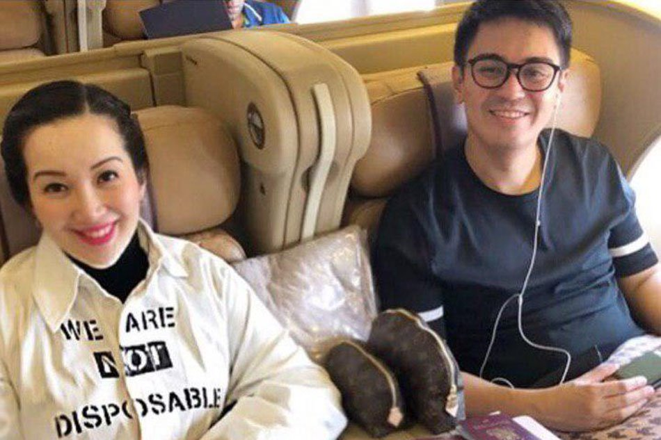 Kris Aquino settles dispute with Nicko Falcis