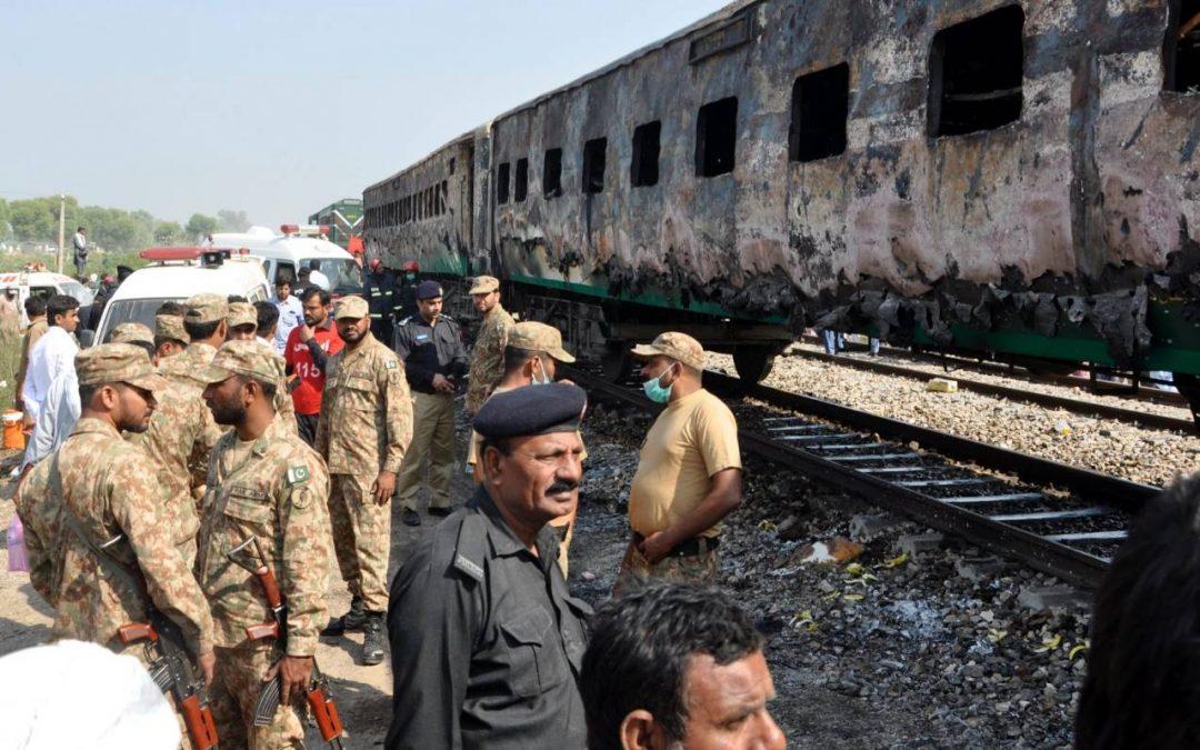 Pakistan train fire update: Death toll now 73